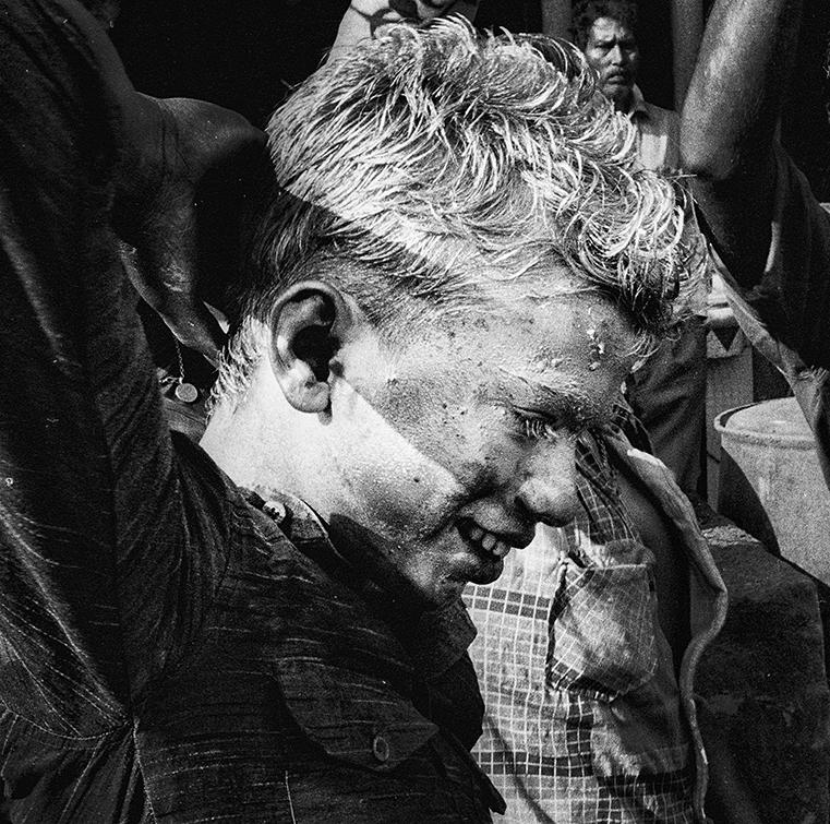 """Holi Festival, Varanasi, India""     photo copyright : Russell Shakespeare 2015"