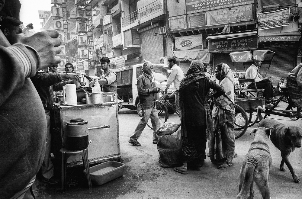 """Chai Shop, Paharganj, Delhi""                   photo copyright : Russell Shakespeare 2015"