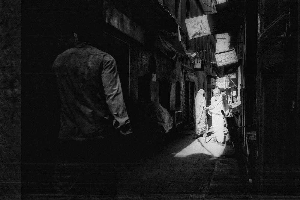 Varanasi, India.                     photo copyright : Russell Shakespeare 2015