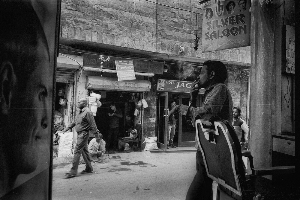 """The Silver Saloon"" Delhi, India                             photo copyright : Russell Shakespeare 2015"