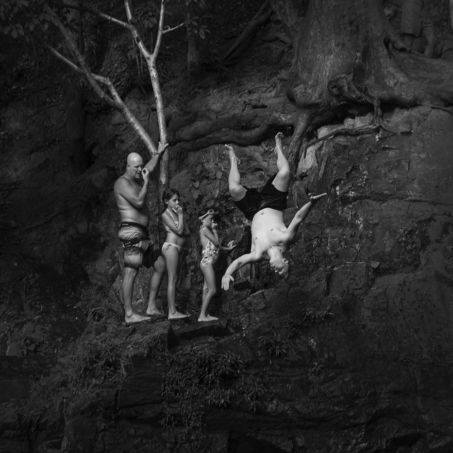 """Jumper""  Currumbin Valley      © Russell Shakespeare 2016"
