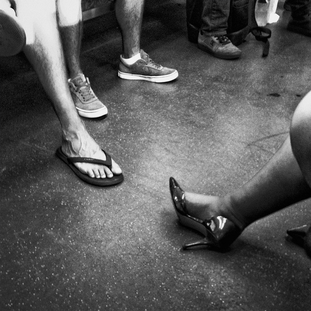 """The Commute""      © Russell Shakespeare 2016"