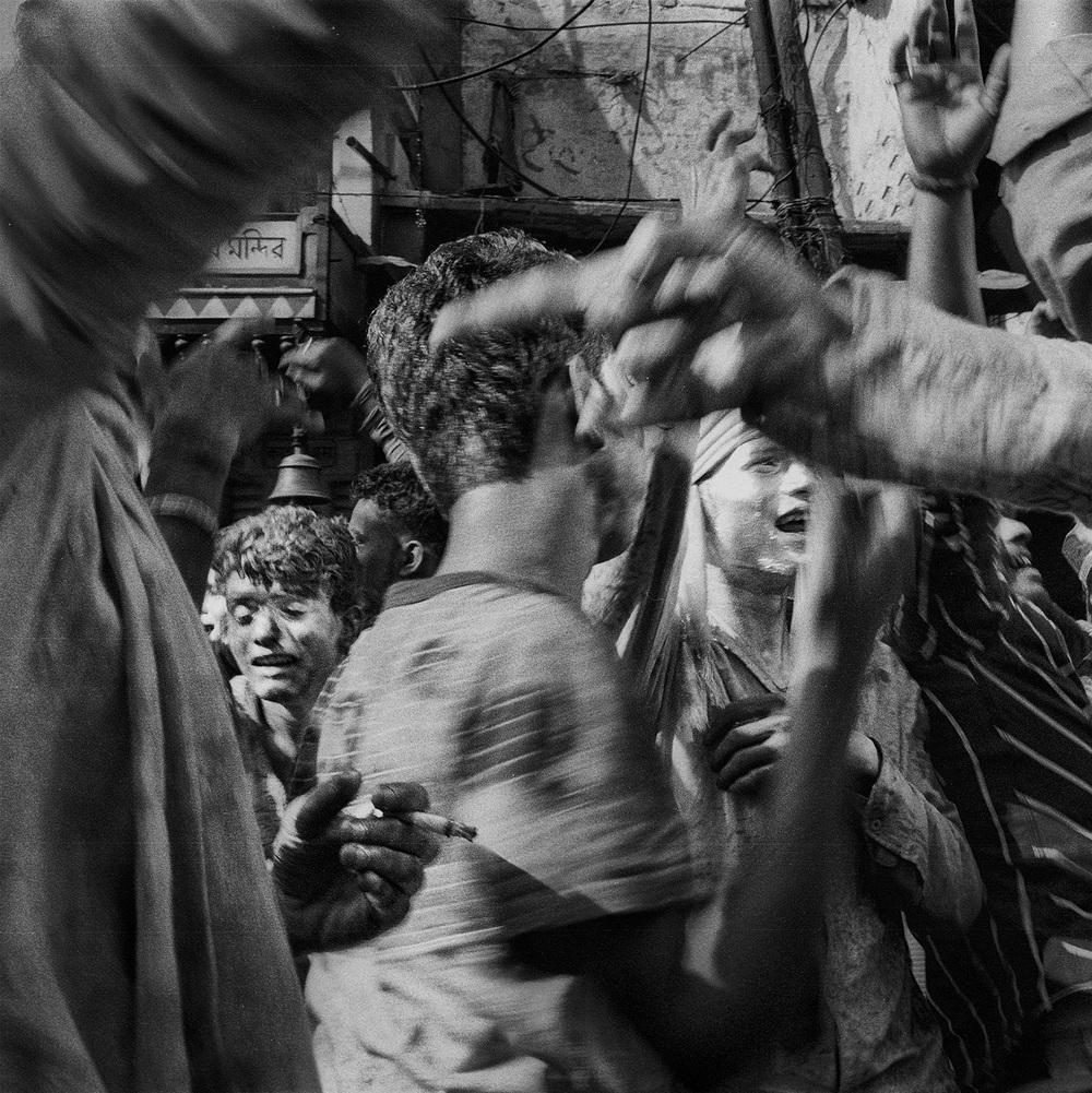 """""""Holi Festival, Varanasi, India""""           © Russell Shakespeare 2015"""