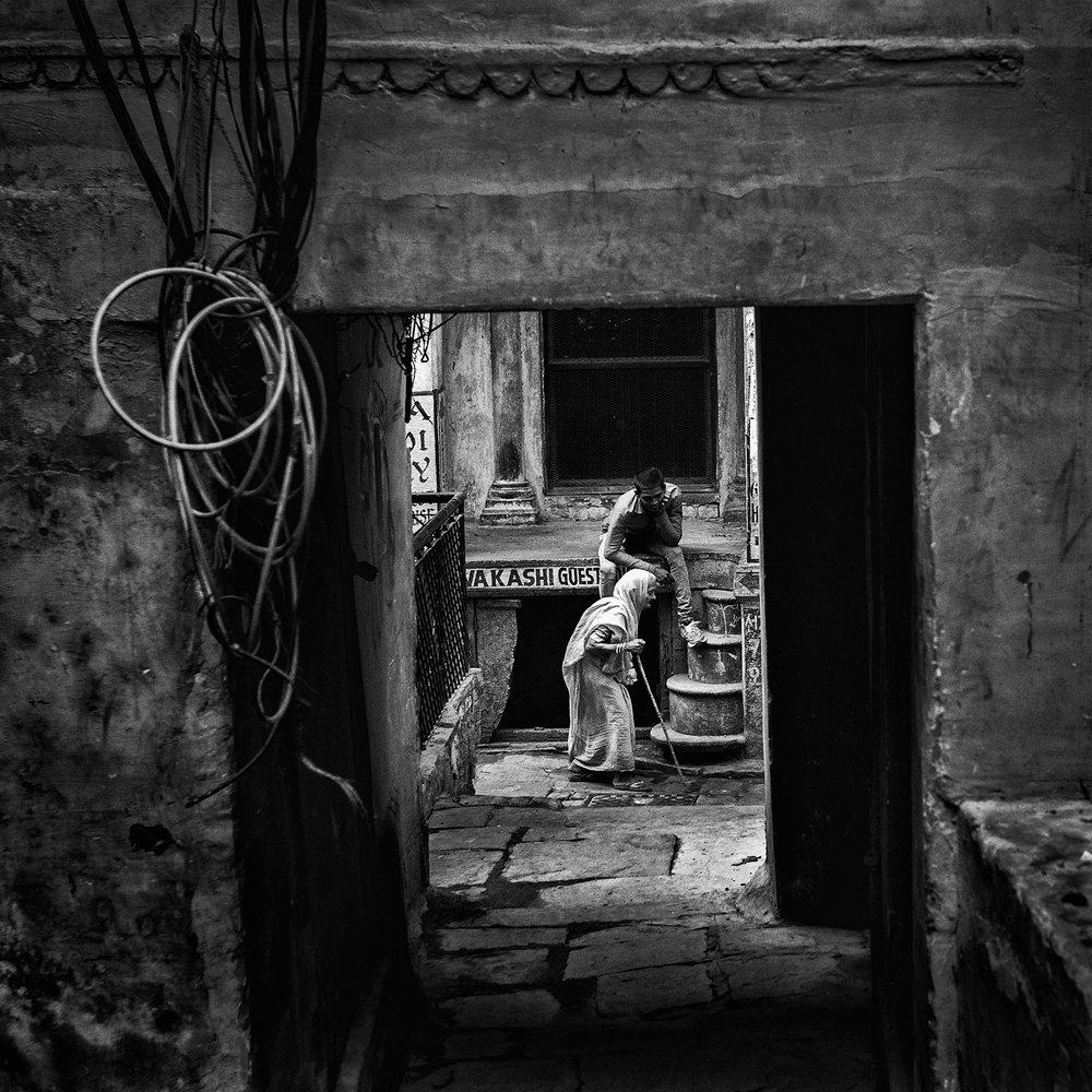 Varanasi, India   © Russell Shakespeare 2016