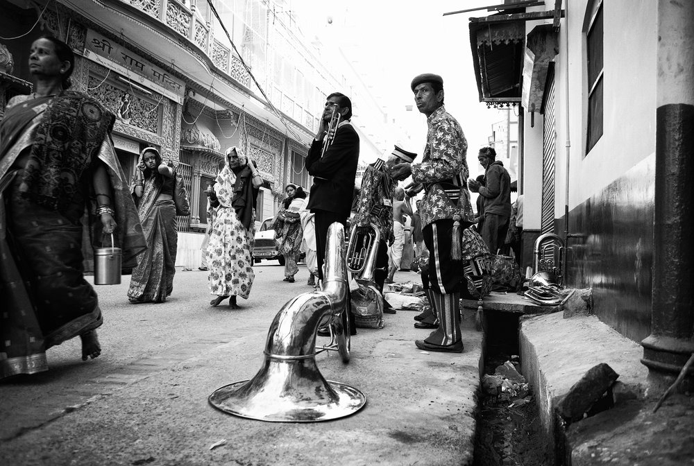 """The Band, Haridwar, India"" .                                           © Russell Shakespeare 2017"