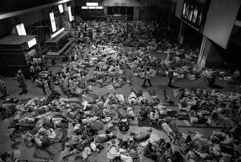 """Varanasi Junction Railway Station, Varanasi, India"" .        ©Russell Shakespeare"