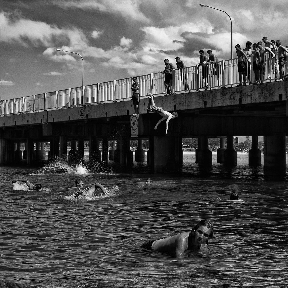 """Jumpers, Tallebudgera Ck""                                                               ©Russell Shakespeare 2017"