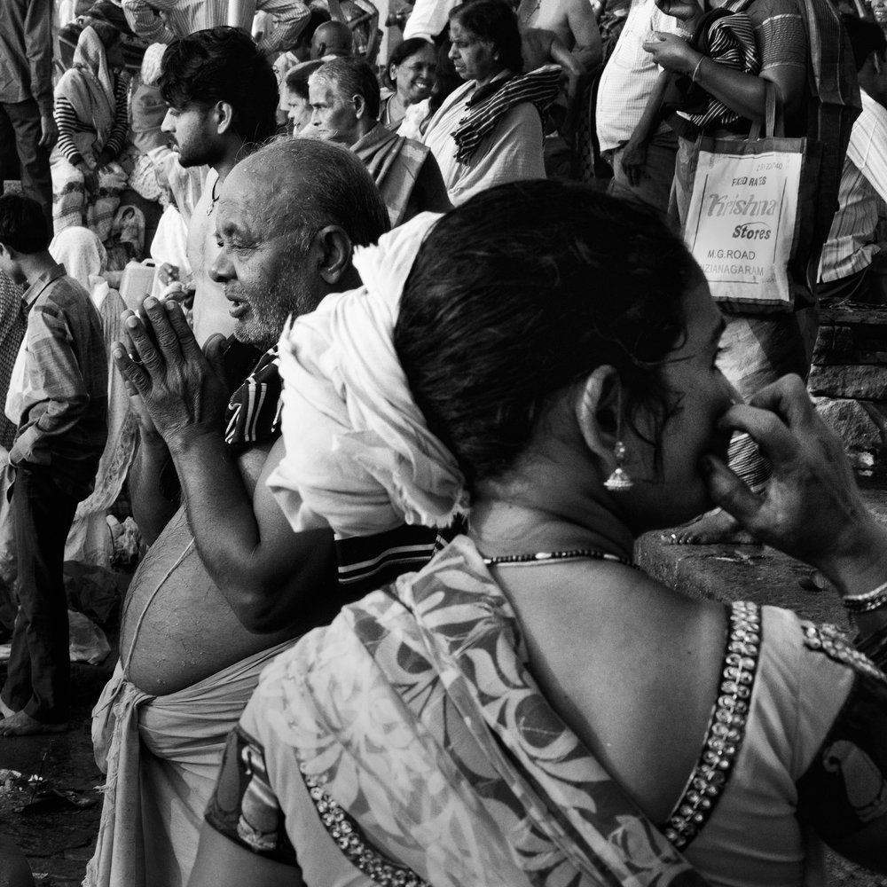 """Crowded Prayer, Varanasi, India""                           ©Russell Shakespeare 2017"
