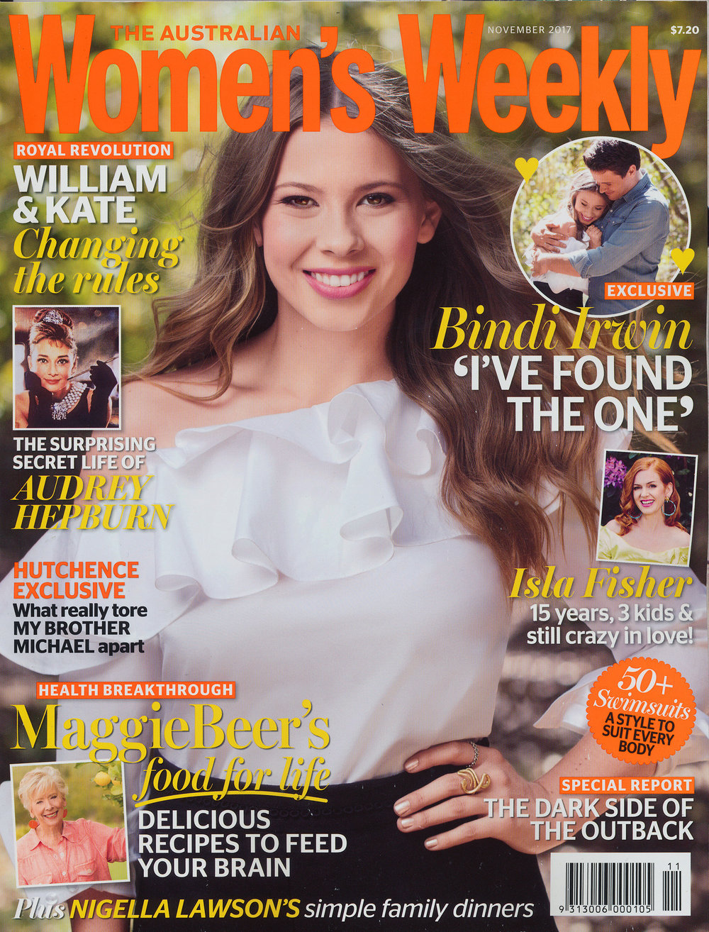 """Bindi Irwin"" for The Australian Women's Weekly Magazine.       Russell Shakespeare 2017"