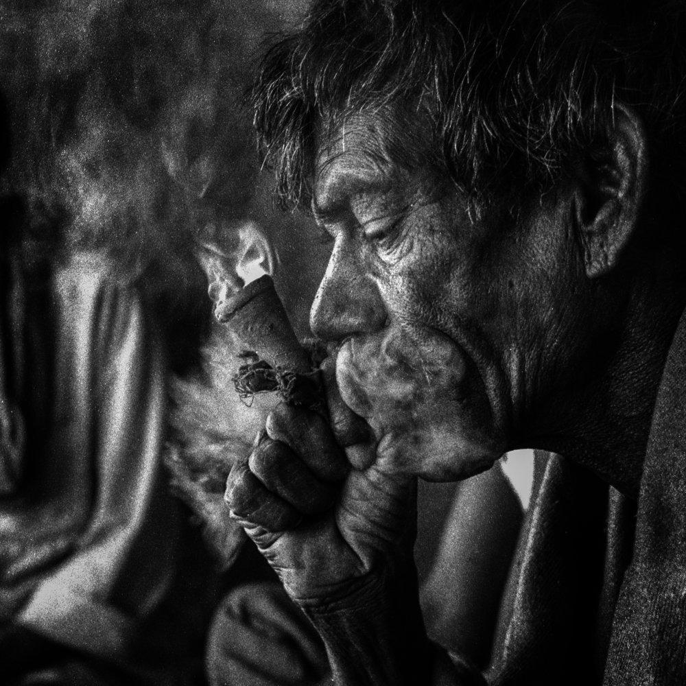 """Munna Lal, Varanasi"" .                                        ©Russell Shakespeare"