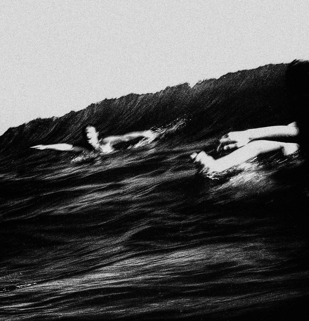 """Bodysurfers, Currumbin Alley""                                                           © Russell Shakespeare 2018"