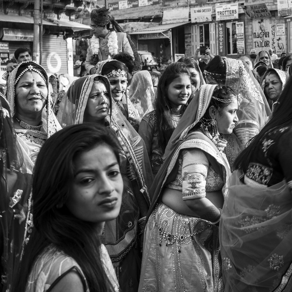 """Jaisalmer wedding, India""                                                               © Russell Shakespeare 2018"