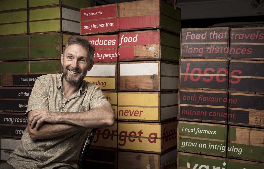 Food Connect collective CEO Rob Pekin for Australian Geographic Magazine.  May-June Issue of Australian Geographic Magazine