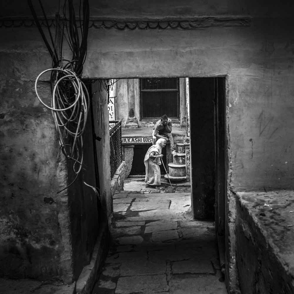 """""""Varanasi, India"""" .                                         © Russell Shakespeare 2018"""