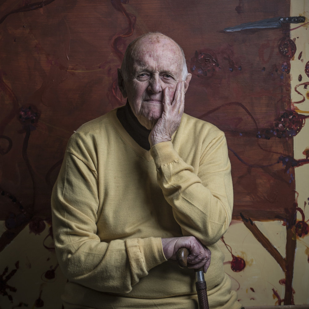 "the Artist ""John Olsen""                                                                             © Russell Shakespeare 2018"