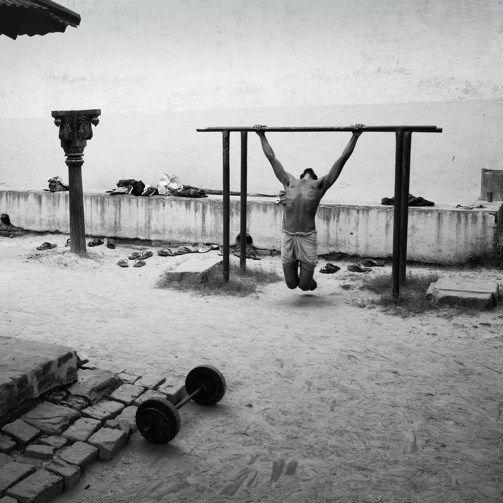"""Wrestlers Gym"" Varanasi, India                                                              © Russell Shakespeare 2018"