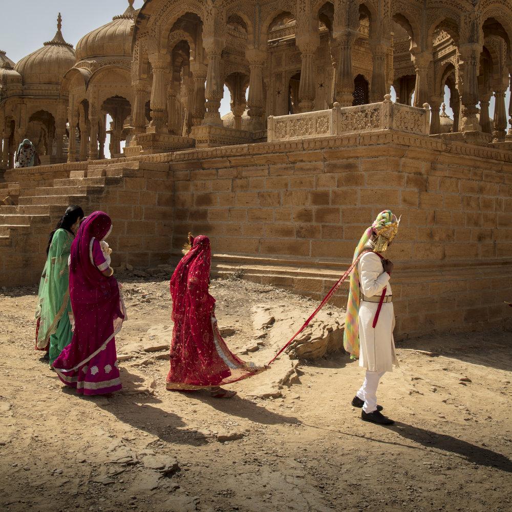 The Wedding Party, Jaisalmer, India.                                                                                © Russell Shakespeare 2019