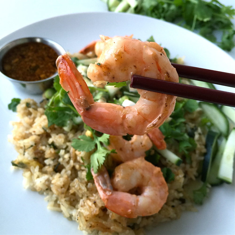 Shrimp fried rice Pho 5 Chop Shop