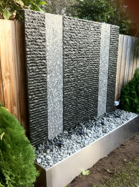 Water Feature Walls Over 1 5m Wide Dean Durrant Design