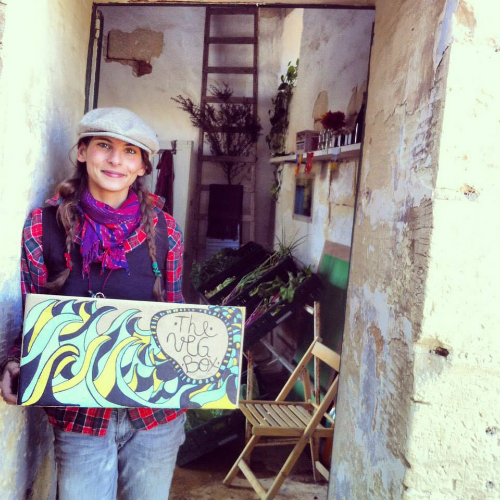 Emanuela de Giorgio - Founder of The Veg Box