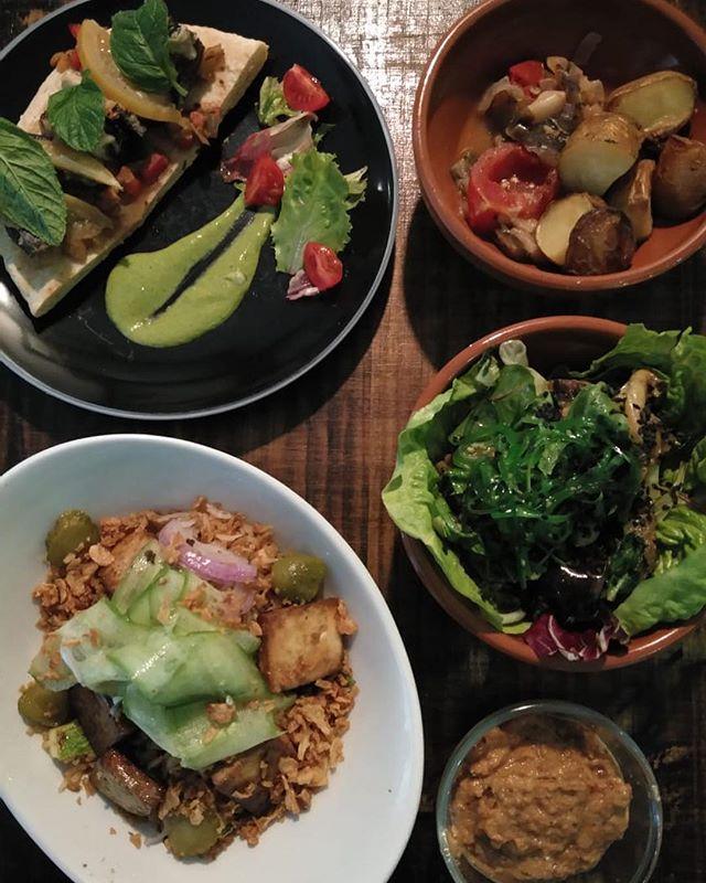 Selection of our spring menu #love #plantbased #lovinmalta #thegrassyhopper