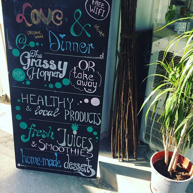 Sun is shining and we are open with healthy yummie delicious food! Come say hi! #thegrassyhopper #vegan #vegetarian