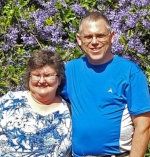 Vern Souder, and wife, Michelle