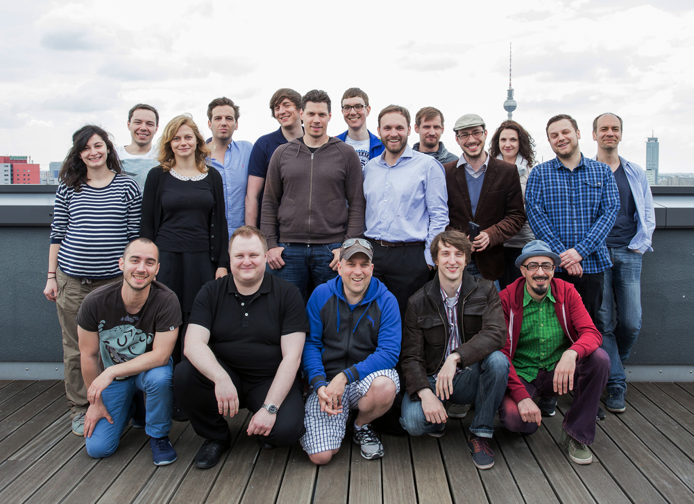 The DOJO MADNESS team in Berlin where they are based.