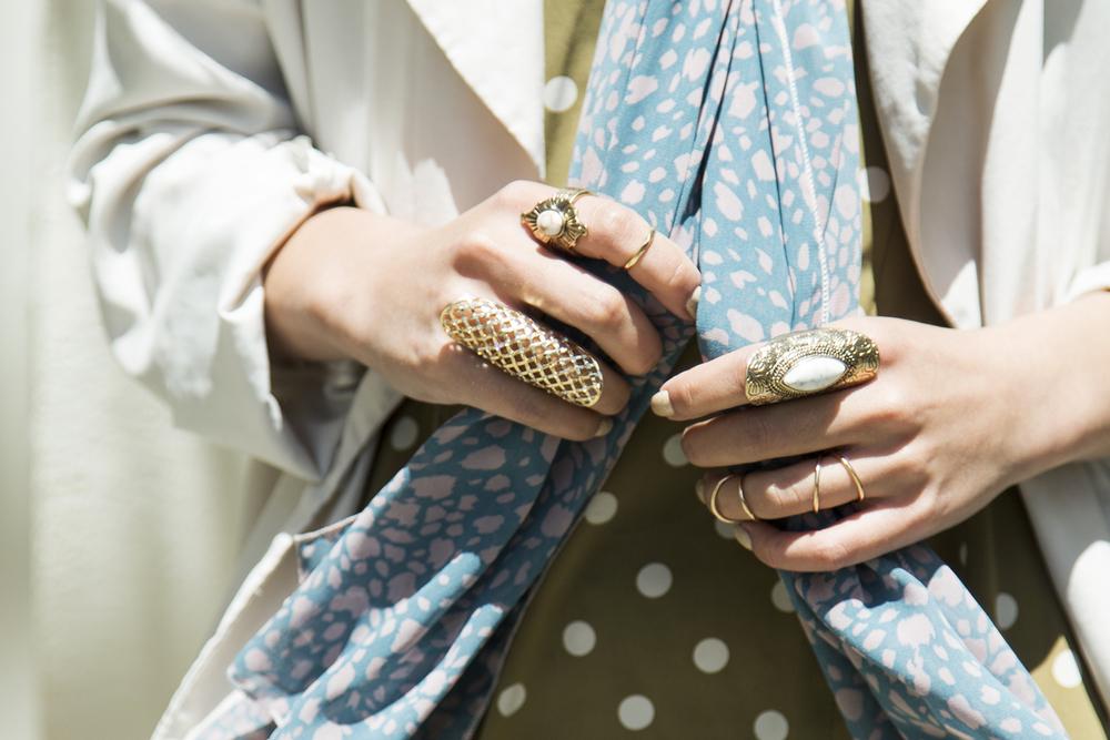 Asos  & New Look  rings