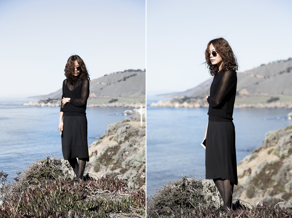Aritzia  -  Laurette Dress ,   All Saints   knits