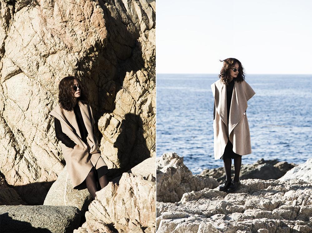 Zara  coat,  Dr. Martens