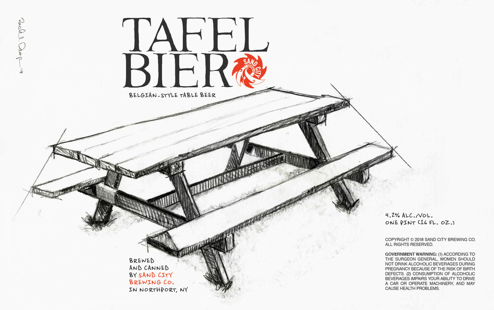 TAFEL BIER