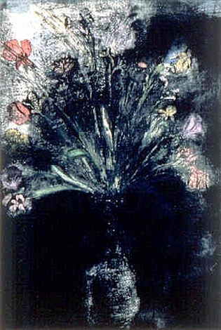 Jim Dine,  Hand Colored Flowers II, 1987–1989