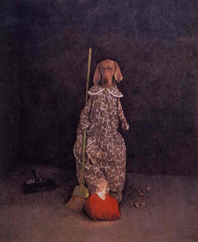 William Wegman, Glass Slipper, 1994
