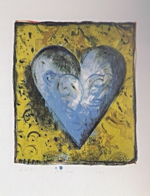 Jime Dine, The Hand Colored Viennese Hearts III