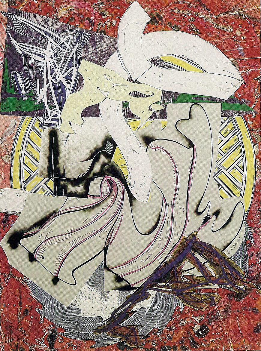 Frank Stella, Ahab