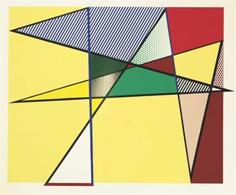 Roy Lichtenstein, Imperfect, 1988