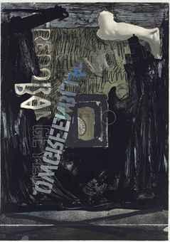 Jasper Johns, Decoy II , 1973