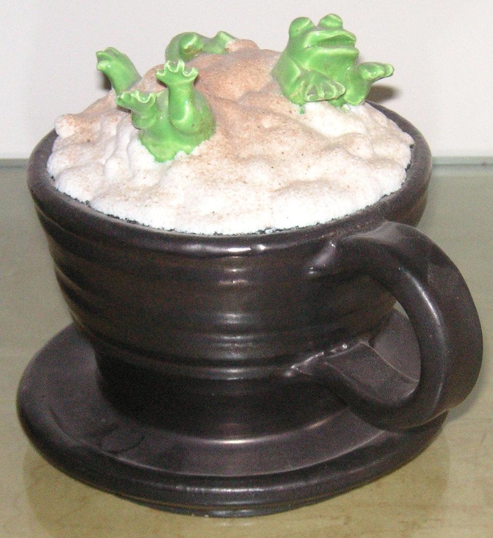David Gilhooly, Frog Cappuccino