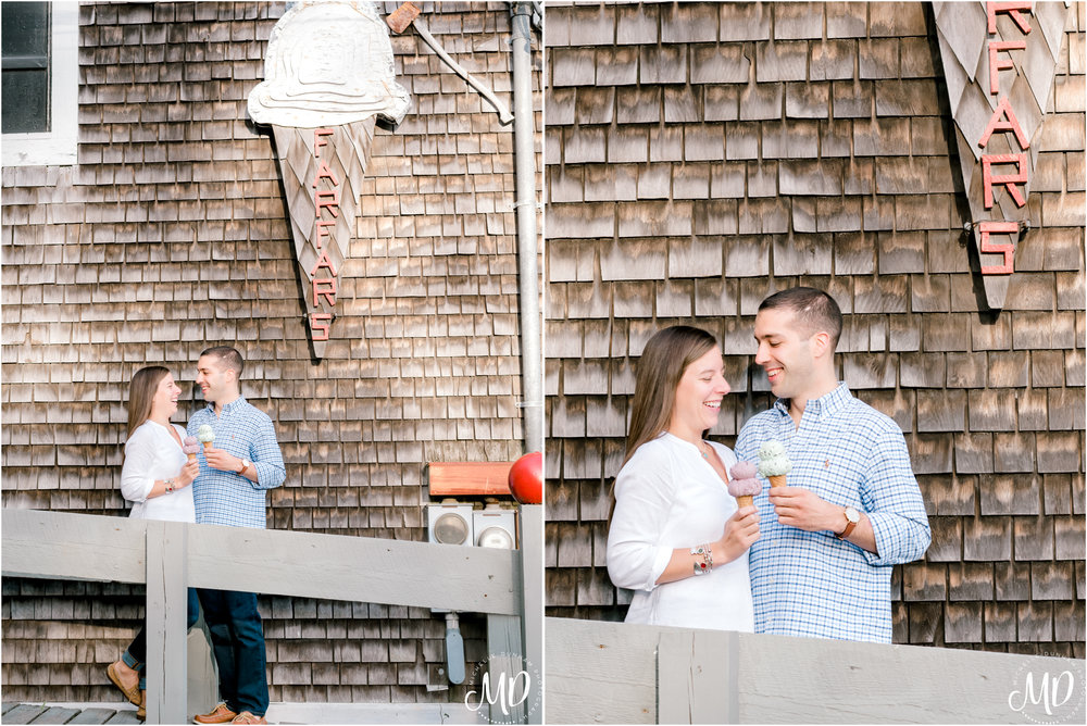 Michelle Dunham Photography-Duxbury-MA-Engagement-FarFars-Ice Cream 3.jpg