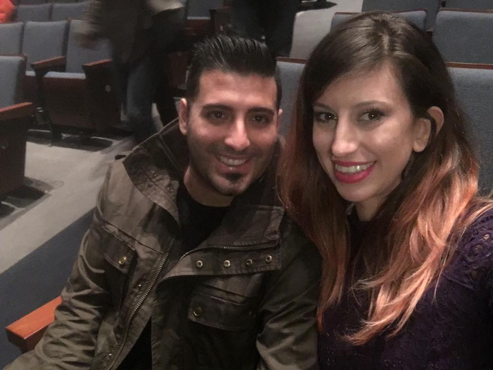 My boyfriend (Joseph) and myself at Prince's last Toronto concert, in March 2016 at the Sony Centre for the Preforming Arts.