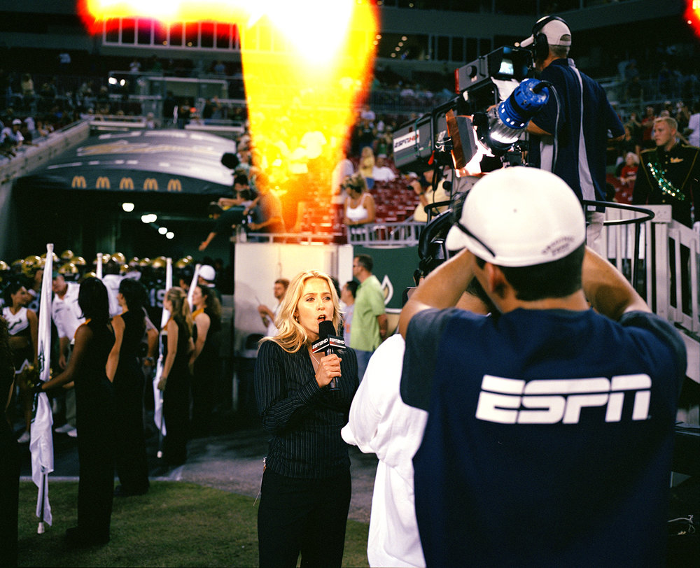 Untitled (Pictures of College Football) , 2007-2008, Digital Photograph