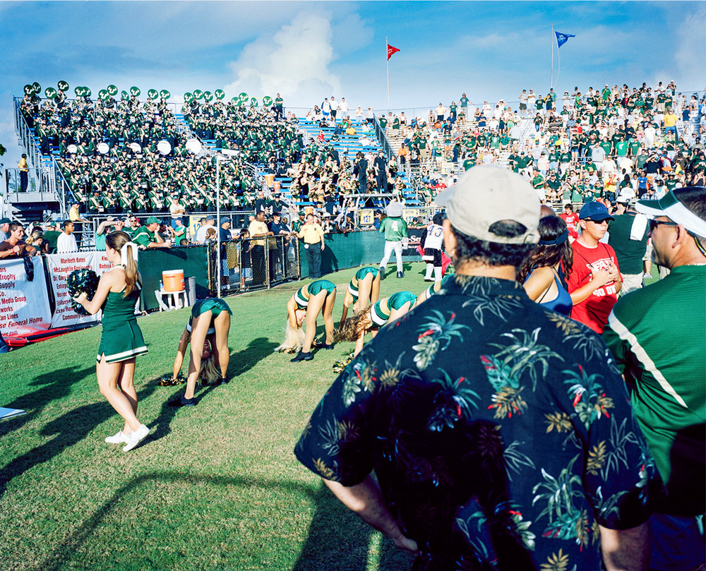 Untitled (Picutres of College Football) , 2007-2008, Digital Photograph