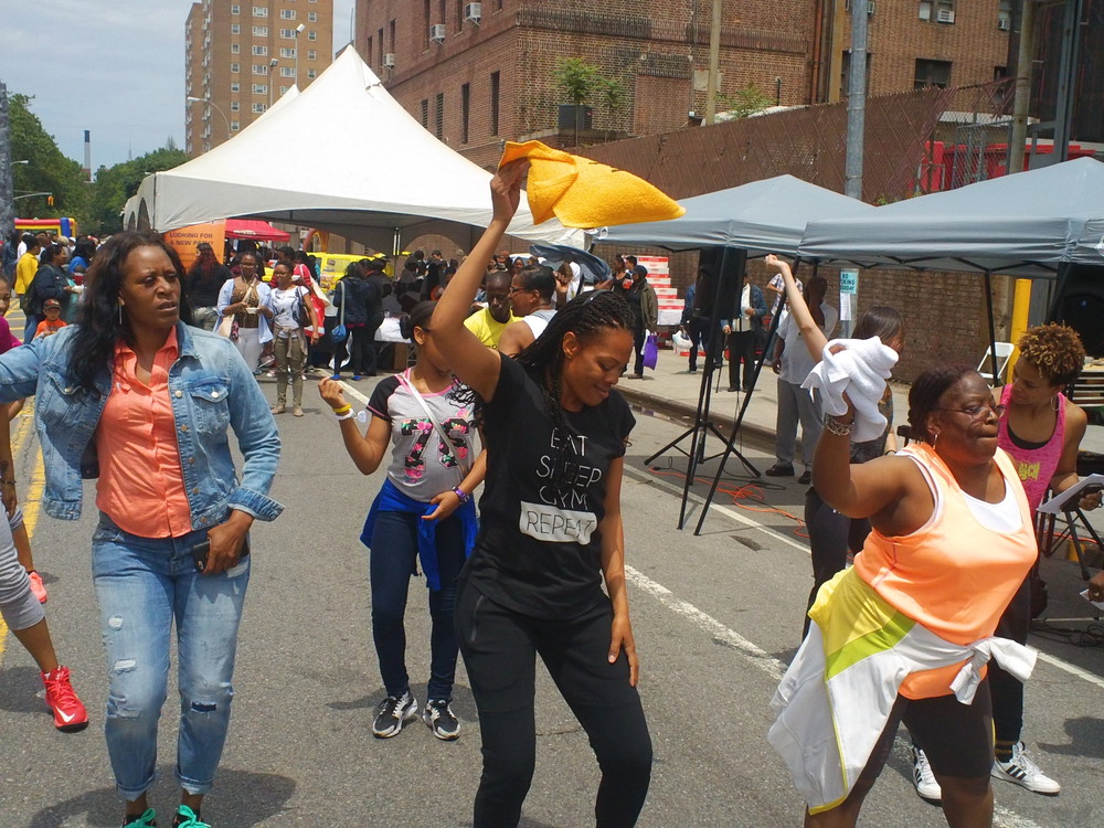 Downtown Brooklyn Community Health Expo - June 2015