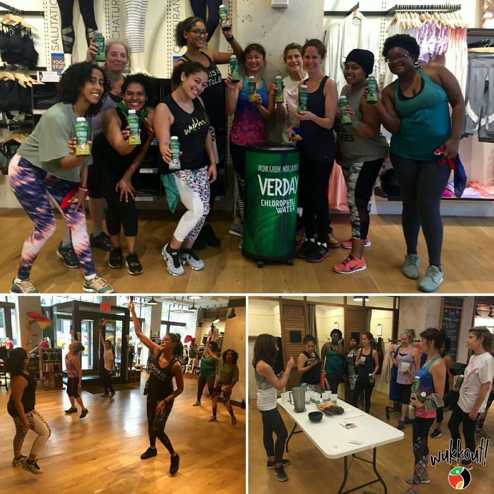 Thank you to everyone who joined us at Athleta UWS and UES last month!  Krista is wearing the High Rise Watercolor Chaturanga™ Capri