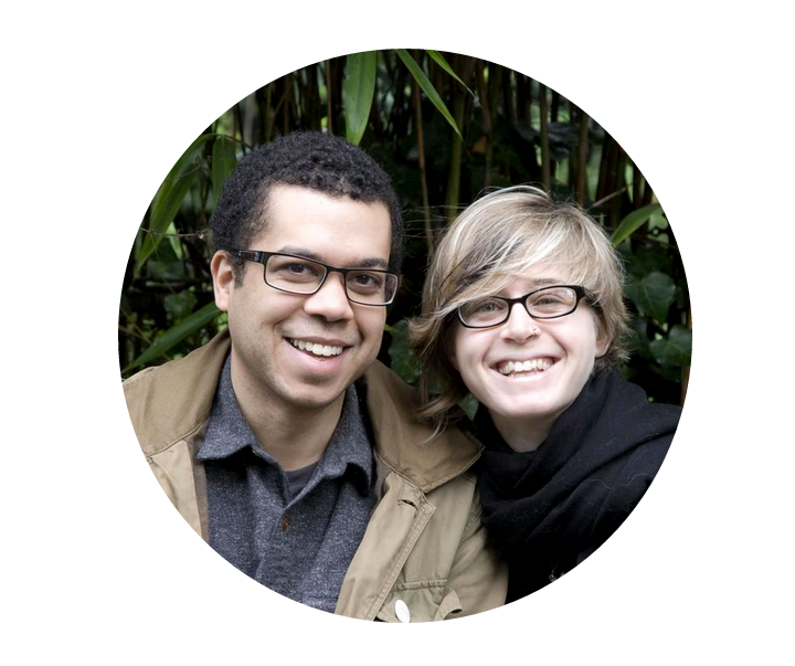 Micah White and Chiara Ricciardone, the co-founders of Boutique Activist Consultancy