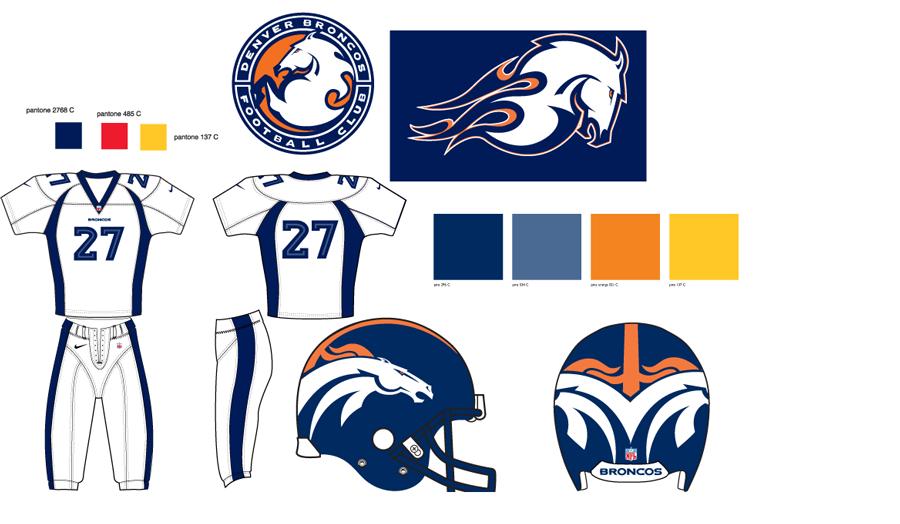 How The Denver Broncos Brand Was Created Bakas Media