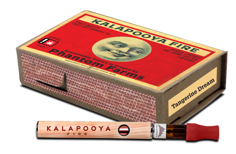 KALAPOOYA FIRE - VAPE PEN VINTAGE MATCHBOX DESIGN