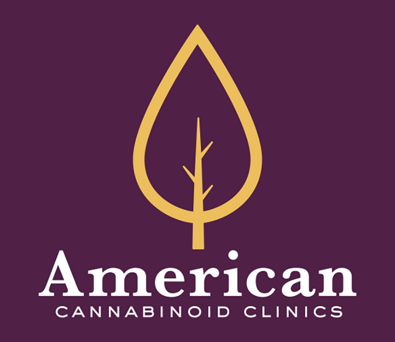 American Cannabinoid Clinics - The cannabis clinics needed a new identity that would represent Americana combined with a modern icon that communicated plant based medicine (golden oil drop).