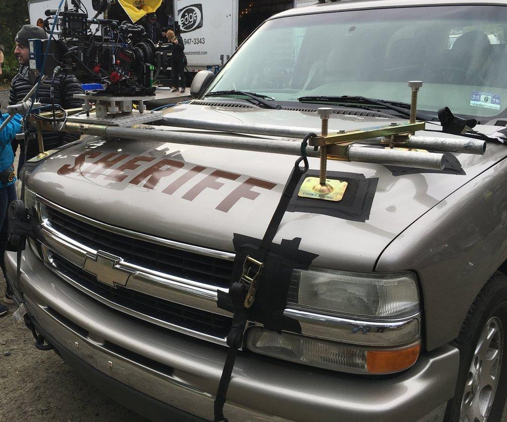 Men In Capes Grip, Inc.  |  Grip Equipment Rental  |  Snorricam Rental  |  Car Rigging Rental  |  Doorway Dolly Rental  |  Apple Box  Seat Covers